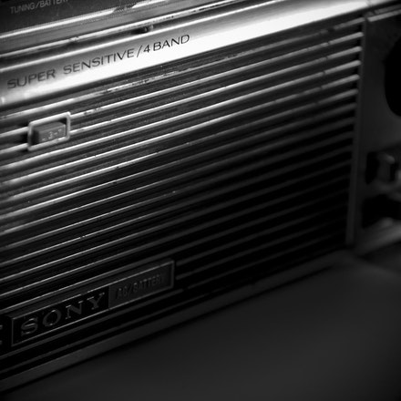 Sony Transistor Radio - Sony Transistor Radio