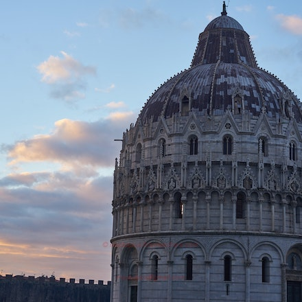 The St. John Baptistery (Battistero) - The St. John Baptistery (Battistero) in the Field of Miracles dates from 1153!