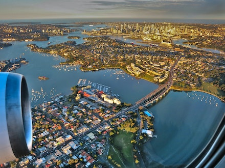 Over the Iron Cove