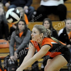 Michigan City vs. LaPorte (IHSAA Sectionals) - 10/23/14 - LaPorte defeated Michigan City in four sets on Thursday evening (10/23) in LaPorte.  You will...
