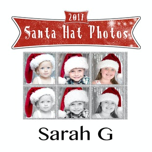 Santa Hat Photos - Sarah G