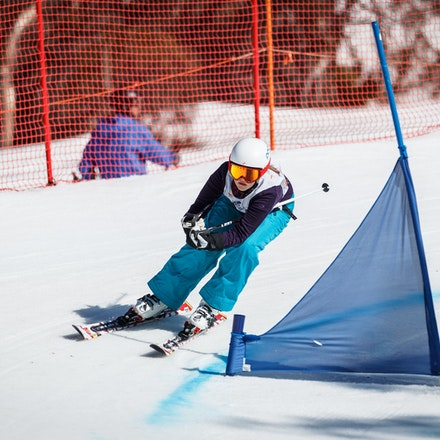 140912_div4_9014 - National Interschools Ski Cross Division 4 at Perisher, NSW (Australia) on September 12 2014. Jan Vokaty