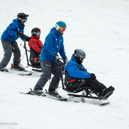 DWA Sit Ski Lesson