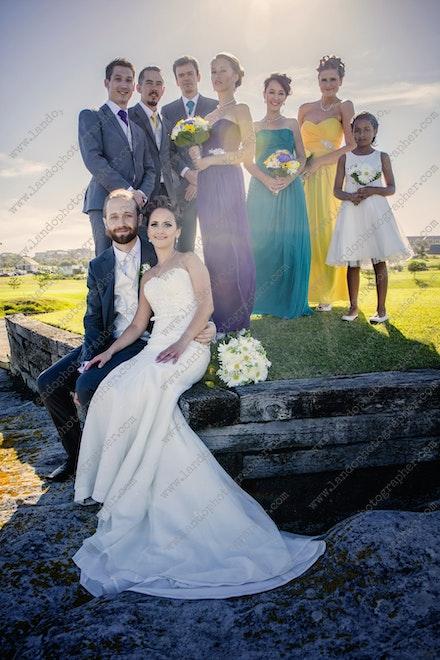 Internet 1165 Alison and Daniel Wedding -  14th March 2015 - Little Bay