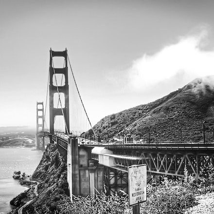 Golden Gate Bridge, San Francisco - Copyright © 2015 Melissa Fiene Photography. All rights reserved. All images created by Melissa Fiene are © Melissa...