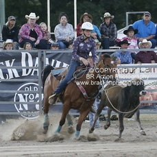 Warwick Rodeo 2015 - Junior Breakaway Roping - Sect 2