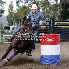 Whittlesea Rodeo - Barrel Race - Sect 1