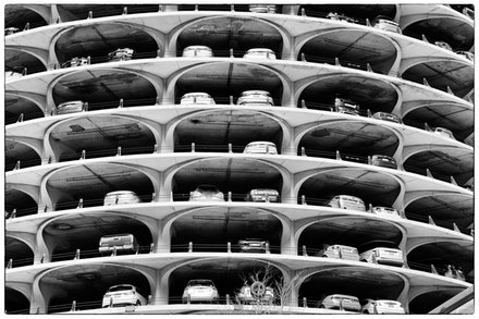 MG_2334 Marina City building, Chicago - The carpark floors of one of Chicago's iconic skyscrapers