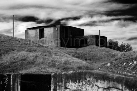 Middle Head-2956 - Derelict gun fortification building, Middle Head, Sydney, NSW