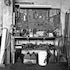 Tanning Tools & Equipment - Each archival photograph is stamped and signed by Robert and a brief description of how it was taken.