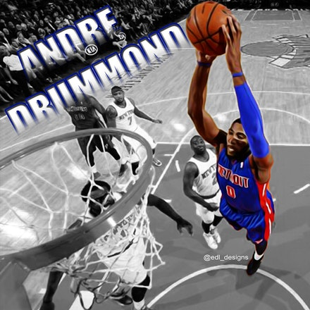 andre drummon dunk