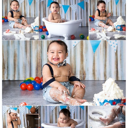 Johan's cake smash