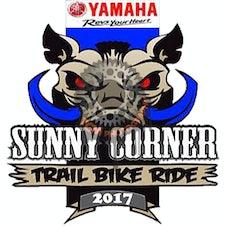 Sunnycorner trailbike ride 2017