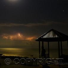 lighting 15/10/2011 - Saturday night 15/10/2011 over Bundaberg