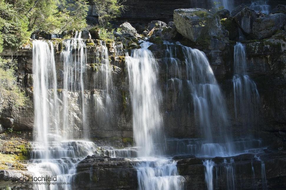Waterfall, Madonna di Campiglio - Waterfall, Madonna di Campiglio, Italy.
