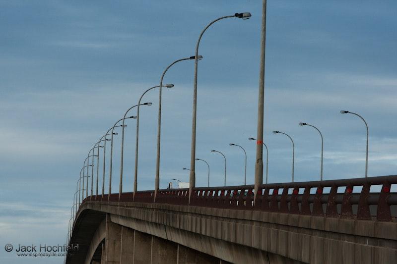 Tourle street bridge, Newcastle - Tourle street bridge leading from Newcastle to Stockton.