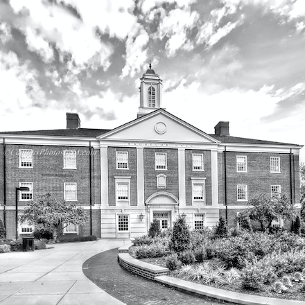 Bachelor Hall, Miami University/Black and White Photo_2430_BW_4284_5_ - Photo by Campus Photos USA. Bachelor Hall, located on the college campus of Miami...