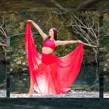 Delwyn Rose shoot - Dance/Athletic themed shoot with Model - Delwyn Rose - @delwynrose_