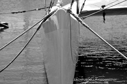 Catamaran Rudder - Location: Waikiki Date: September 2010 Time: 2:46 PM ISO: 400  Shutter Speed: 1/1000 sec.  Aperture: 4.5  Focal Length: 70mm