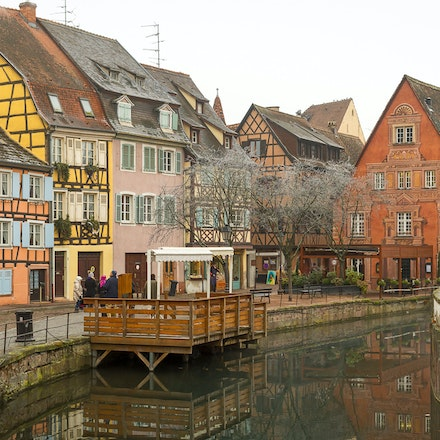 2016 Colmar - Alsace - Colmar is a town in the Alsace region of northeastern France, near the border with Germany. Its old town has cobblestone streets...