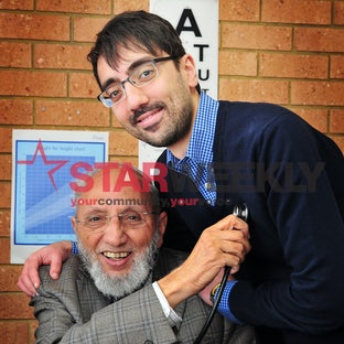 Dr Abdus Salaam and Dr Imraan Ansari - Photos by Dennis Manktelow