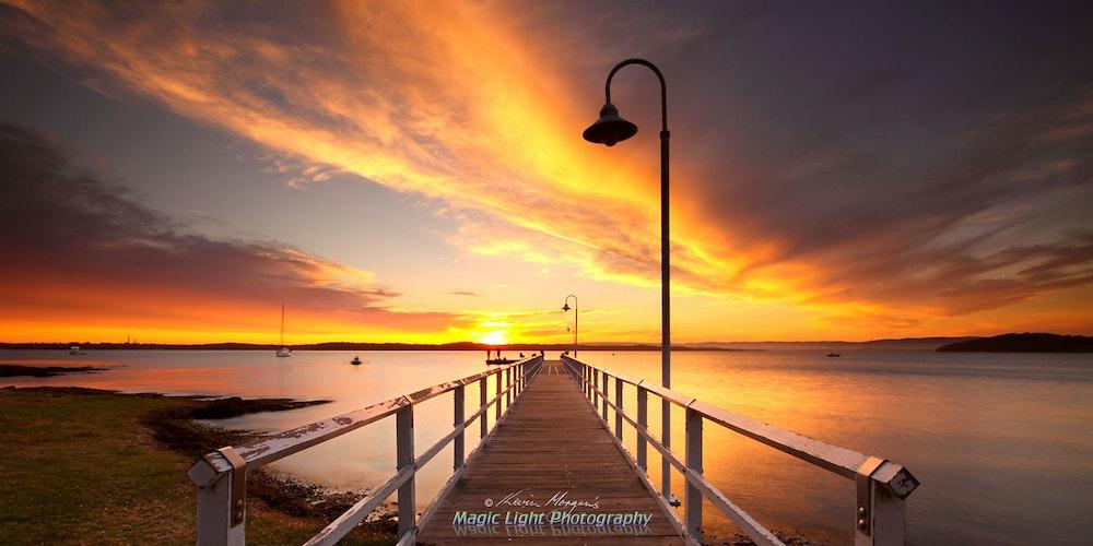 Murrays Beach Sunset 05 Oct 2013 IMG_9951 1680 panorama