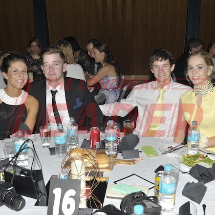 151120_SR27460 - Shannon cossor, Rhys Kinsey, Jason cutting, Lucy Harris at the Longreach State High School formal, Friday November 20, 2015.  sr/Photo...