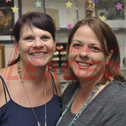 170204_SR26969 - Laura Grant and Jilly Singleton at the Longreach RSL Meet and Greet, Saturday February 4, 2016.   sr/Photo by Sam Rutherford