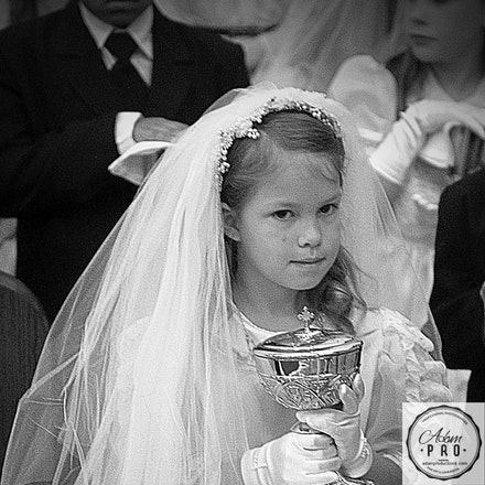 First Communion - First Communion for nine at St. Bernadette's Church