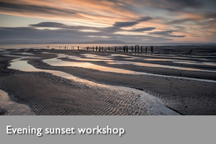 Evening sunset workshop